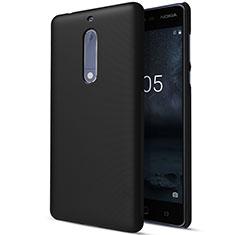 Etui Plastique Rigide Mat pour Nokia 5 Noir