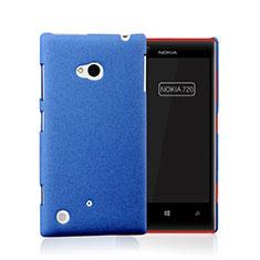 Etui Plastique Rigide Mat pour Nokia Lumia 720 Bleu