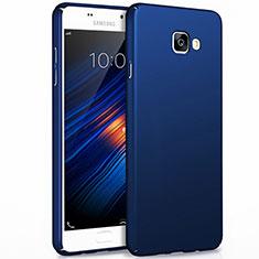 Etui Plastique Rigide Mat pour Samsung Galaxy A3 (2017) SM-A320F Bleu
