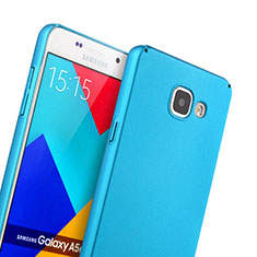 Etui Plastique Rigide Mat pour Samsung Galaxy A5 (2016) SM-A510F Bleu Ciel
