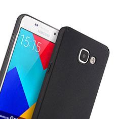 Etui Plastique Rigide Mat pour Samsung Galaxy A5 (2016) SM-A510F Noir