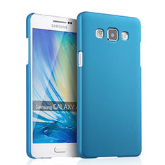 Etui Plastique Rigide Mat pour Samsung Galaxy A5 Duos SM-500F Bleu Ciel