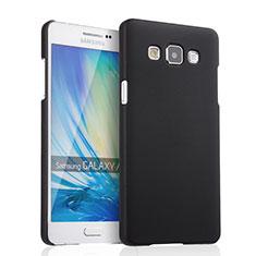 Etui Plastique Rigide Mat pour Samsung Galaxy A5 Duos SM-500F Noir