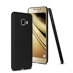Etui Plastique Rigide Mat pour Samsung Galaxy C5 SM-C5000 Noir