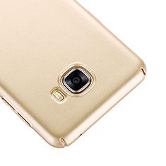 Etui Plastique Rigide Mat pour Samsung Galaxy C7 SM-C7000 Or