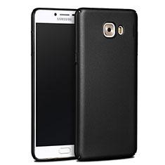 Etui Plastique Rigide Mat pour Samsung Galaxy C9 Pro C9000 Noir