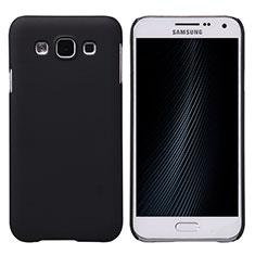 Etui Plastique Rigide Mat pour Samsung Galaxy E5 SM-E500F E500H Noir