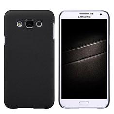 Etui Plastique Rigide Mat pour Samsung Galaxy E7 SM-E700 E7000 Noir