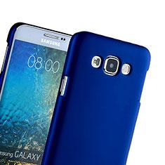 Etui Plastique Rigide Mat pour Samsung Galaxy Grand 3 G7200 Bleu
