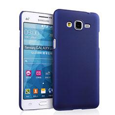 Etui Plastique Rigide Mat pour Samsung Galaxy Grand Prime SM-G530H Bleu