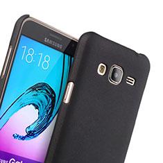 Etui Plastique Rigide Mat pour Samsung Galaxy J3 Noir