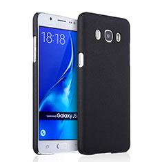 Etui Plastique Rigide Mat pour Samsung Galaxy J5 Duos (2016) Noir