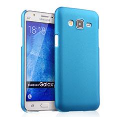 Etui Plastique Rigide Mat pour Samsung Galaxy J5 SM-J500F Bleu Ciel