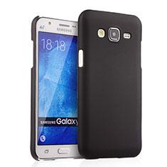 Etui Plastique Rigide Mat pour Samsung Galaxy J5 SM-J500F Noir