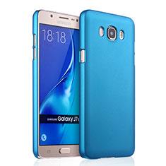 Etui Plastique Rigide Mat pour Samsung Galaxy J7 (2016) J710F J710FN Bleu Ciel