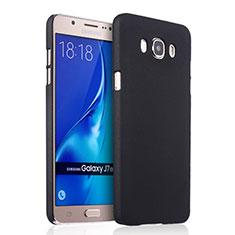 Etui Plastique Rigide Mat pour Samsung Galaxy J7 (2016) J710F J710FN Noir