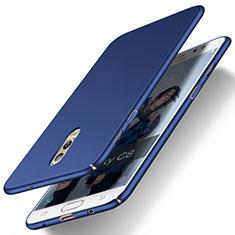 Etui Plastique Rigide Mat pour Samsung Galaxy J7 Plus Bleu