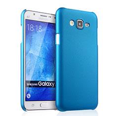 Etui Plastique Rigide Mat pour Samsung Galaxy J7 SM-J700F J700H Bleu Ciel