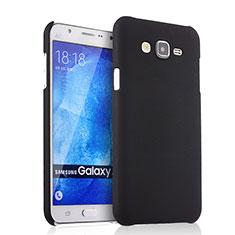 Etui Plastique Rigide Mat pour Samsung Galaxy J7 SM-J700F J700H Noir