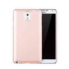 Etui Plastique Rigide Mat pour Samsung Galaxy Note 3 N9000 Or Rose