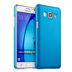 Etui Plastique Rigide Mat pour Samsung Galaxy On5 Pro Bleu Ciel
