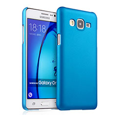 Etui Plastique Rigide Mat pour Samsung Galaxy On7 G600FY Bleu Ciel