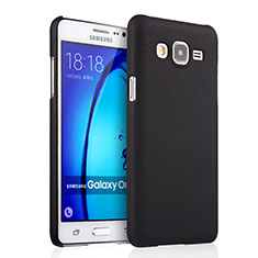 Etui Plastique Rigide Mat pour Samsung Galaxy On7 G600FY Noir