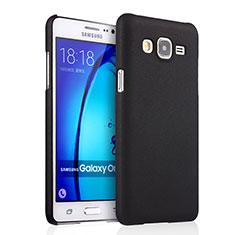Etui Plastique Rigide Mat pour Samsung Galaxy On7 Pro Noir