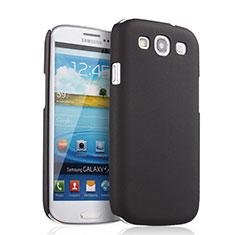 Etui Plastique Rigide Mat pour Samsung Galaxy S3 i9300 Noir