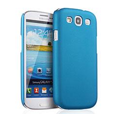 Etui Plastique Rigide Mat pour Samsung Galaxy S3 III LTE 4G Bleu Ciel