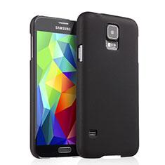 Etui Plastique Rigide Mat pour Samsung Galaxy S5 G900F G903F Noir