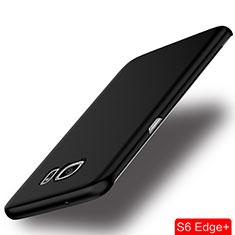 Etui Plastique Rigide Mat pour Samsung Galaxy S6 Edge+ Plus SM-G928F Noir