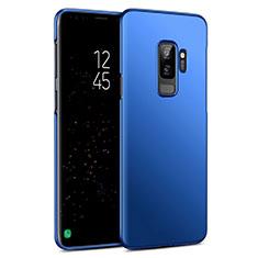 Etui Plastique Rigide Mat pour Samsung Galaxy S9 Plus Bleu