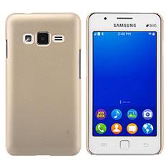 Etui Plastique Rigide Mat pour Samsung Z1 Z130H Or