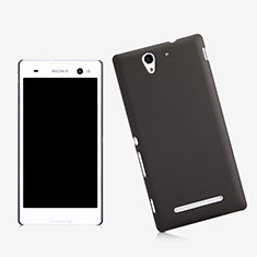 Etui Plastique Rigide Mat pour Sony Xperia C3 Noir