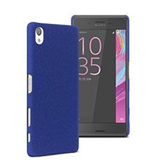 Etui Plastique Rigide Mat pour Sony Xperia X Performance Dual Bleu