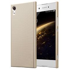 Etui Plastique Rigide Mat pour Sony Xperia XA1 Or