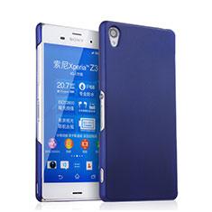 Etui Plastique Rigide Mat pour Sony Xperia Z3 Bleu