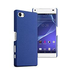 Etui Plastique Rigide Mat pour Sony Xperia Z5 Compact Bleu