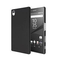 Etui Plastique Rigide Mat pour Sony Xperia Z5 Noir