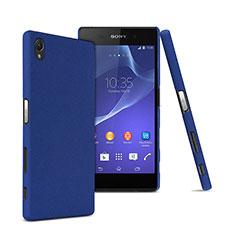 Etui Plastique Rigide Mat pour Sony Xperia Z5 Premium Bleu