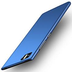 Etui Plastique Rigide Mat pour Xiaomi Mi 3 Bleu