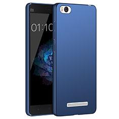 Etui Plastique Rigide Mat pour Xiaomi Mi 4C Bleu