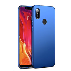 Etui Plastique Rigide Mat pour Xiaomi Mi 8 Bleu