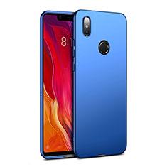 Etui Plastique Rigide Mat pour Xiaomi Mi 8 SE Bleu