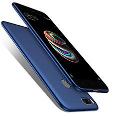 Etui Plastique Rigide Mat pour Xiaomi Mi A1 Bleu