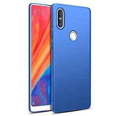 Etui Plastique Rigide Mat pour Xiaomi Mi Mix 2S Bleu