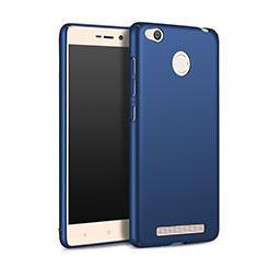Etui Plastique Rigide Mat pour Xiaomi Redmi 3 High Edition Bleu
