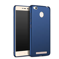 Etui Plastique Rigide Mat pour Xiaomi Redmi 3S Bleu