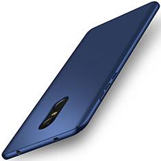 Etui Plastique Rigide Mat pour Xiaomi Redmi Note 4 Standard Edition Bleu